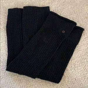 Lululemon Black Leg Warmers - O/S